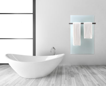 GD800+ Glasverwarming 800W, Wit, 70x130cm