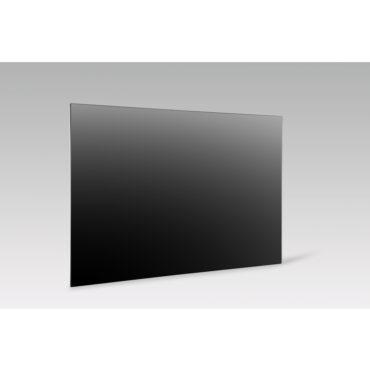 GD800+ Glasverwarming 800W, Zwart, 70x130cm